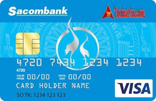 thẻ tín dụng SACOMBANK VISA