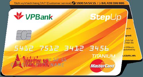 thẻ tín dụng Step Up