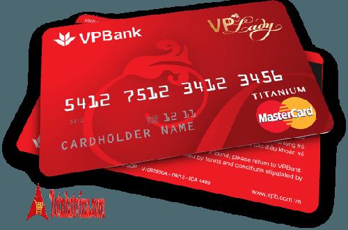 thẻ tín dụng VPLady