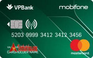 Thẻ tín dụng đồng thương hiệu Mobifone-VPBank