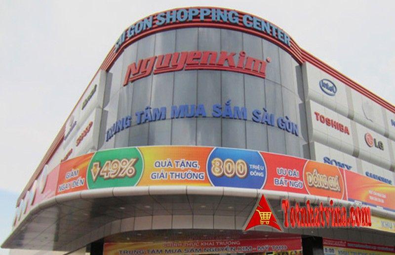 Cách mua trả góp bằng thẻ tín dụng tại Nguyễn Kim, điều kiện và thủ tục mua trả góp siêu thị Nguyễn Kim