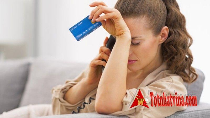 thẻ tín dụng bị từ chối