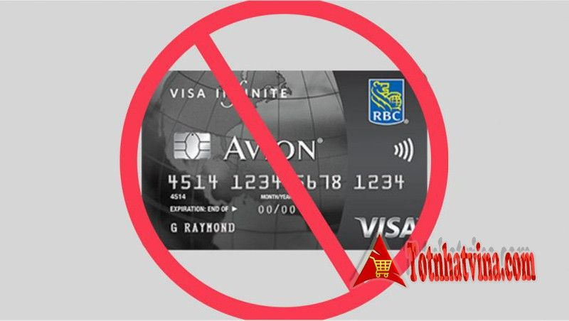 từ chối mở thẻ tín dụng