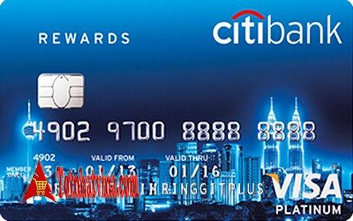 Thẻ tín dụng Citi Rewards