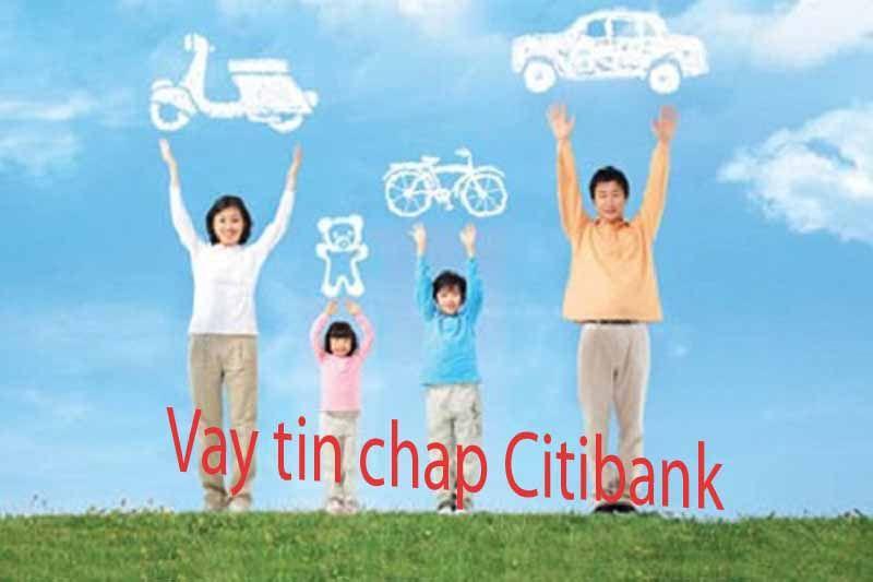 Vay tiêu dùng tín chấp Citibank