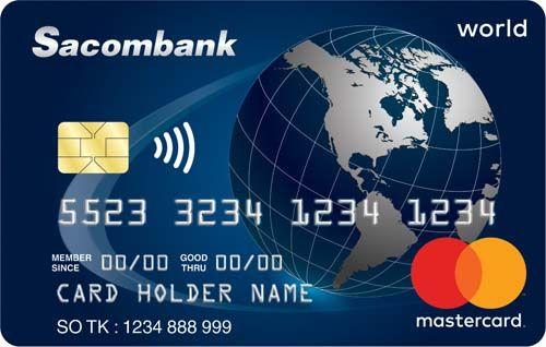 Dòng thẻ tín dụng cao cấp World Mastercard