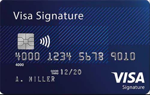 Visa Signature (mang đậm thương hiệu của cá nhân )