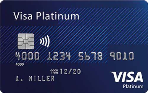 Thẻ visa bạch kim