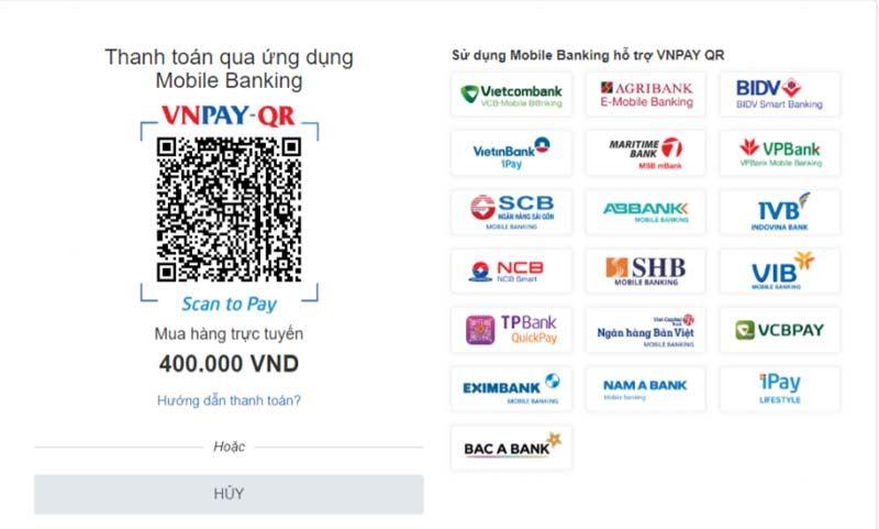 Chọn hình thức thanh toán vé xem bóng đá online