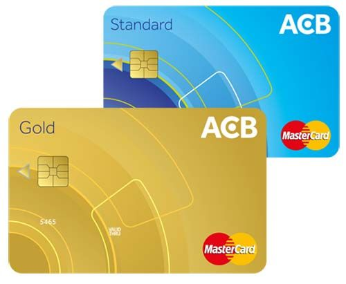 Thẻ tín dụng ACB MasterCard