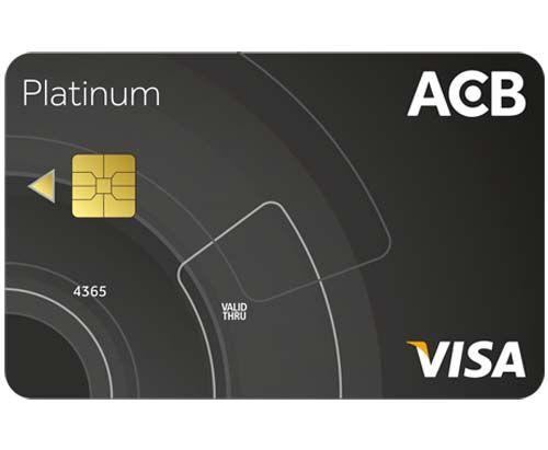thẻ tín dụng ACB Visa Platinum
