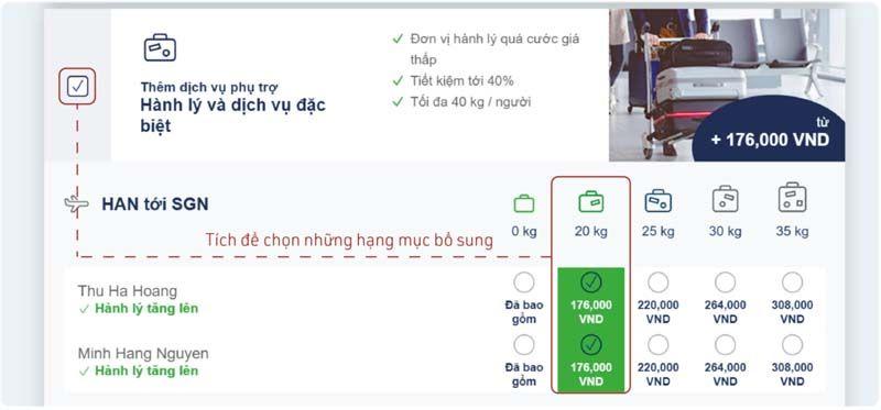 Dịch vụ bổ sung hãng Tre Việt