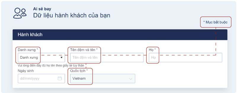Điền dữ liệu Tre Việt