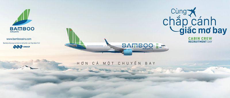 Hướng dẫn mua vé máy bay bamboo airways