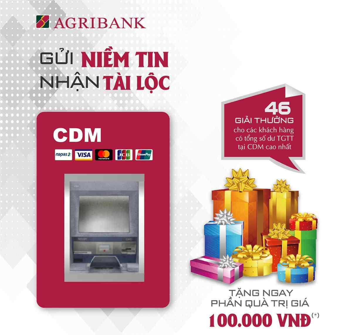 Danh sách các máy Cdm Agribank trong cả nước