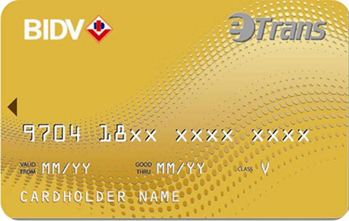 Hướng dẫn cách làm thẻ ATM tại ngân hàng BIDV