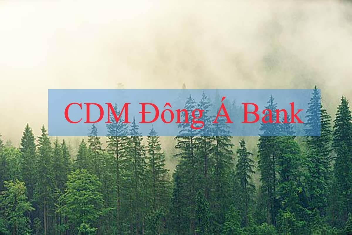 Danh sách CDM Đông Á Bank