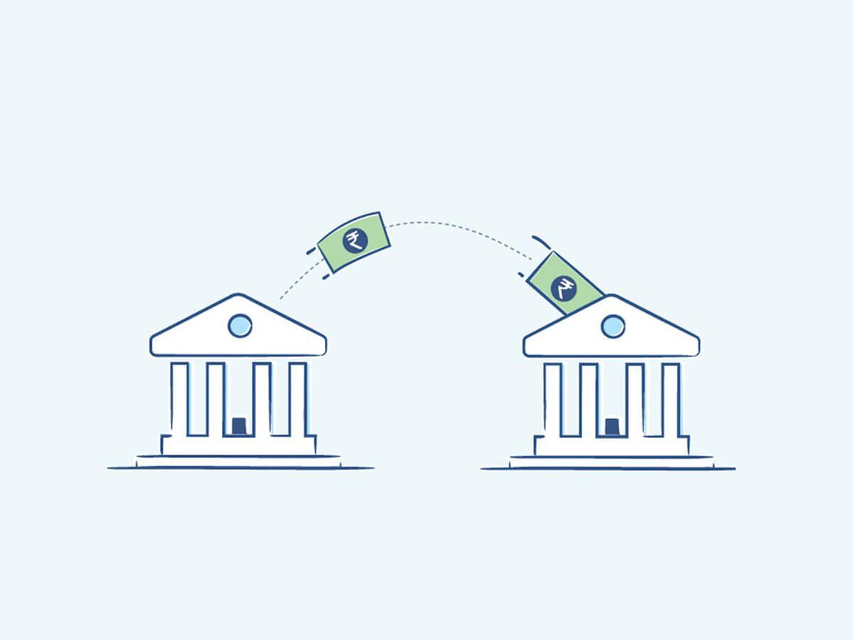 Chuyển tiền khác ngân hàng tại quầy