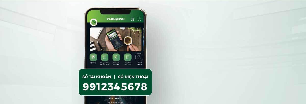 Đối tượng được mở tài khoản trực tuyến định danh của ngân hàng Vietcombank.