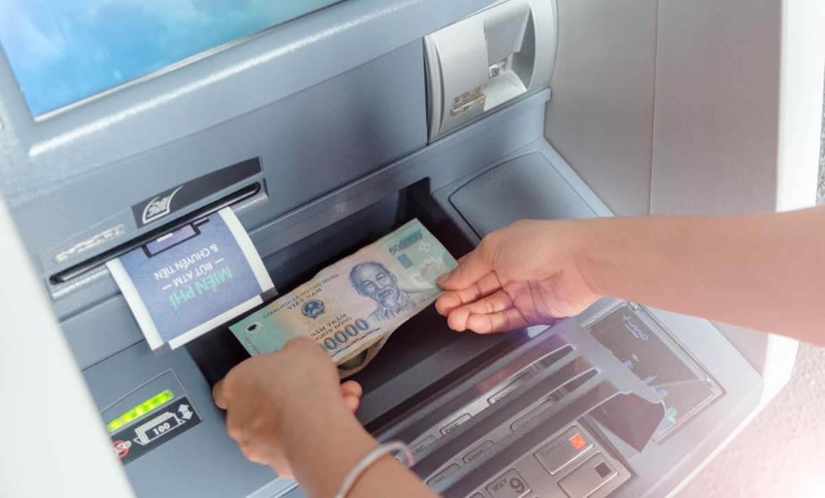 Hướng dẫn giao dịch, nộp tiền tại máy cdm.