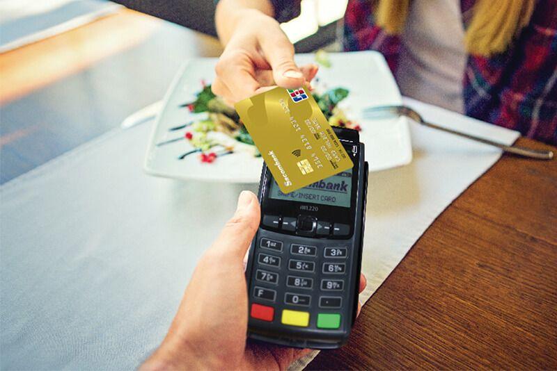Lãi suất rút tiền từ thẻ tín dụng JCB Sacombank thấp