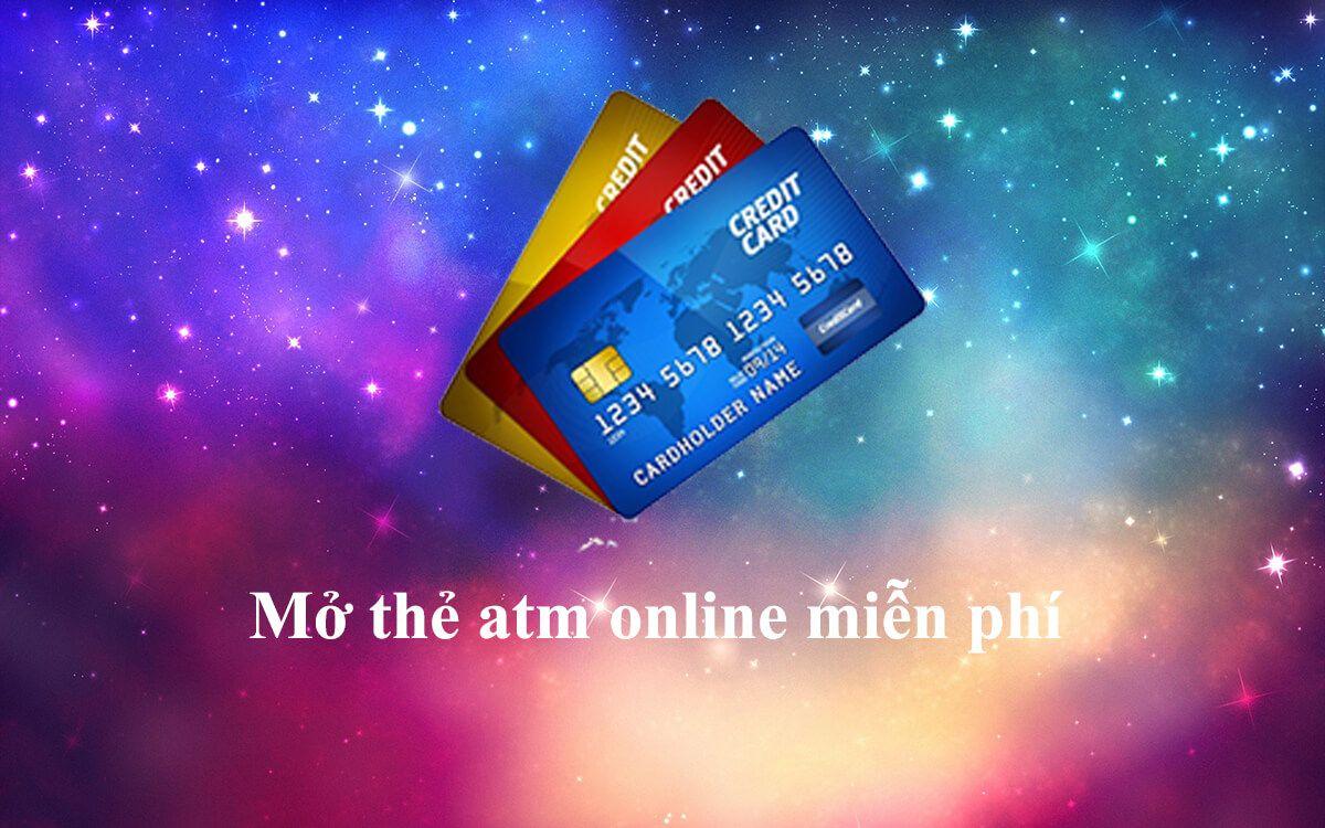 Cách làm thẻ Atm online miễn phí