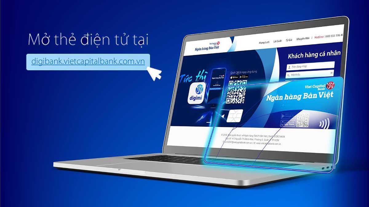 Hướng dẫn mở thẻ tín dụng online tại Ngân hàng Bản Việt