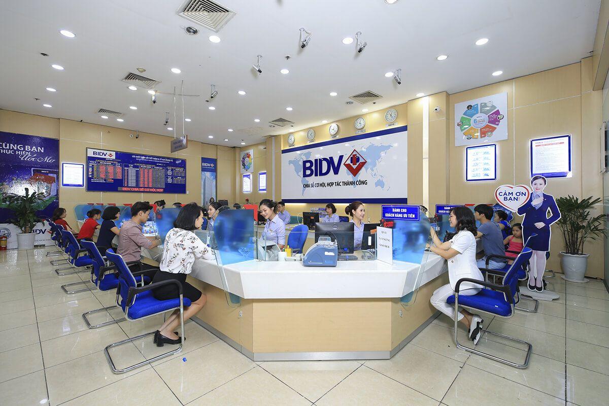 các ngân hàng liên kết với bidv