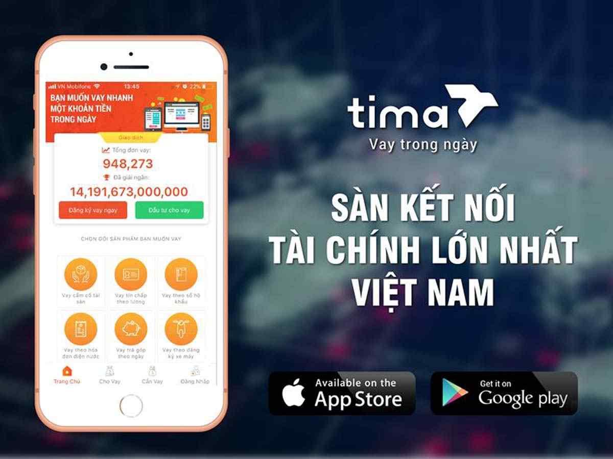 Sàn kết nối tài chính Tima