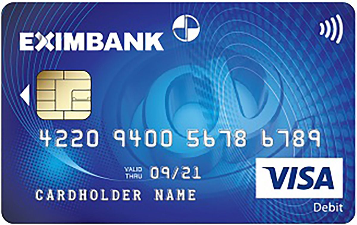 thẻ atm eximbank