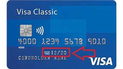 Thẻ ATM hết hạn sử dụng