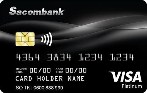 thẻ tín dụng Visa Platinum