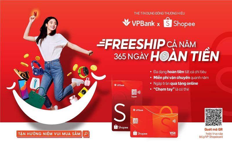 ra mắt công chúng sản phẩm Thẻ tín dụng VPBank Shopee