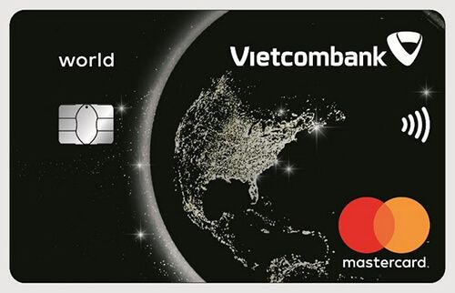 THẺ TÍN DỤNG QUỐC TẾ VIETCOMBANK MASTERCARD WORLD