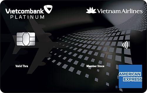THẺ VIETCOMBANK VIETNAM AIRLINES PLATINUM AMERICAN EXPRESS ®