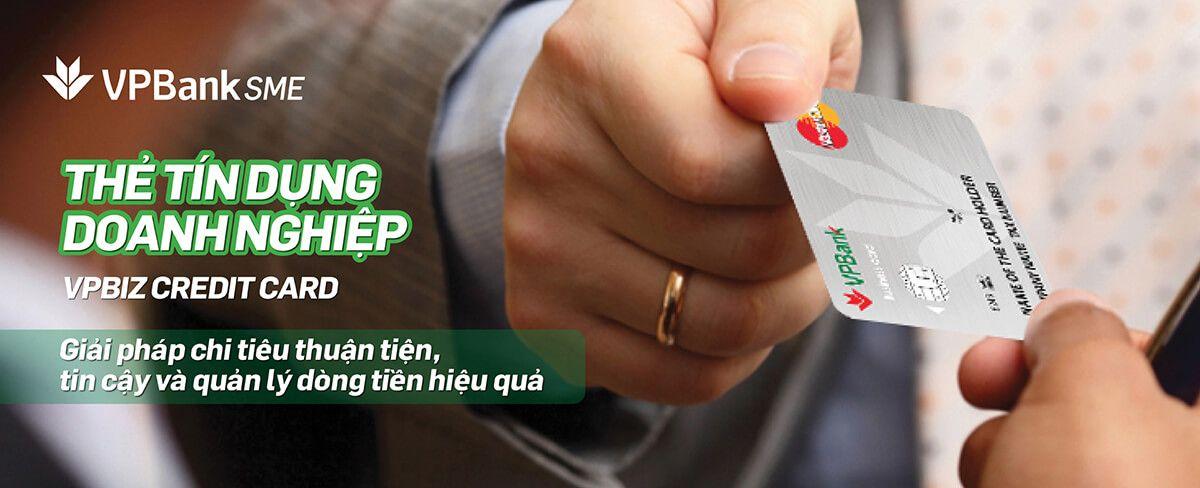 mở thẻ tín dụng doanh nghiệp vpbank