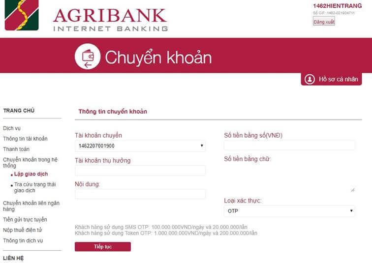Dịch vụ  tài chính